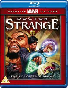 Doctor Strange [Blu-ray] Marvel Animated Feature £4.99 with any purchase @ Hmv (in store)