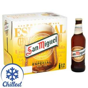 36 x 330ml bottles of San Miguel for £20 at Morrisons