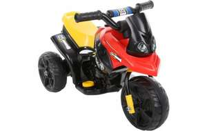 Mini Moto 6V Kids Ride On Trike in Black or Pink was £70 now £20 C+C @ Halfords (also Peppa Pig 6V Electric Ride On Car now £40 / Roadsterz 6V Electric Ride On Quad Black or Pink now £25)