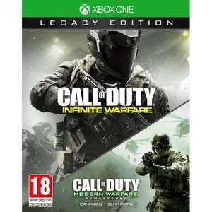 PRE order Call of Duty: Infinite Warfare Legacy Edition Xbox One/Ps4 £63.99 with code smythstoys