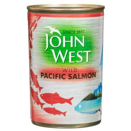 John West Wild Pacific Salmon (Large Tin = 418g) now £1 @ B&M