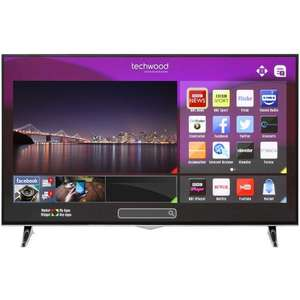 "Techwood 55AO3USB 55"" Smart 4K Ultra HD TV £449 @ AO"