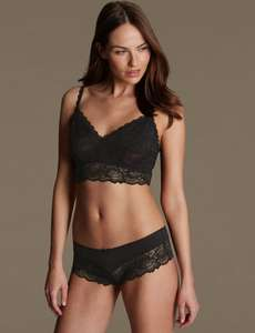 Small Glitch > £5 off £30/ £10 off £50 lingerie code takes it off Pre-offer Prices on 3 for 2 Items @ M&S