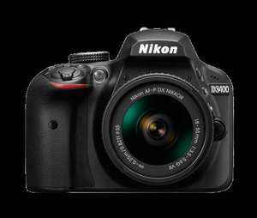Nikon D3400 Kit (AF-P 18-55 VR) Black £409 hdewcameras