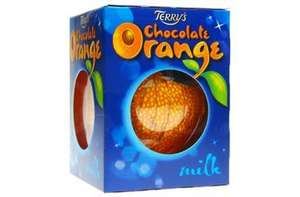 Terry's Chocolate Orange £1 instore @ CO-OP