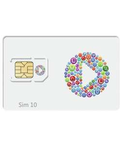 Anywhere sim - 4 UK roaming networks 5p min/text/MB £1 @ Argos
