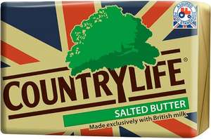 Country Life Salted or Unsalted Butter (250g) ONLY £1.00 (Rollback Deal) @ Asda
