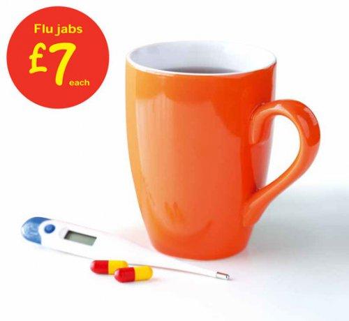 Flu jabs in asda for £7 at instore pharmacies