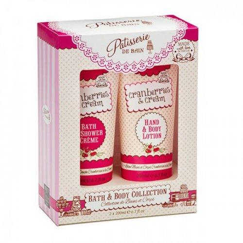 Patisserie de Bain Cranberries & Cream Duo Gift Set Was £10 Now 1p @ Superdrug Online