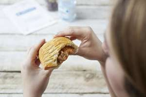 Greggs £2 meal deal. Any savoury or sweet with any hot drink