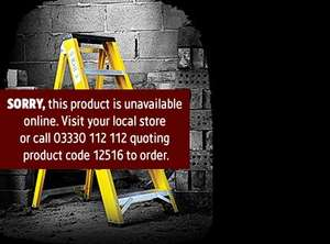 Lyte 5 tread fibreglass step ladders - £29.99 screwfix deal of the day instore