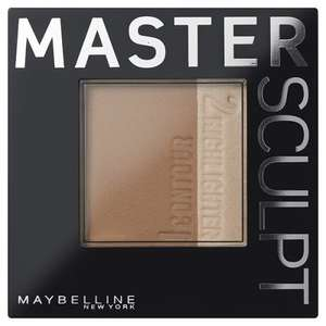 Maybelline Master Sculpt Contouring Foundation 01 Light/Med or 02 Med/Dark was £6.99 now £4.99 + Buy 1 get 2nd 1/2 price (2 for £7.48) @ Superdrug