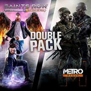 Saints Row Metro Double Pack PS4 only £15.99 on PS Store