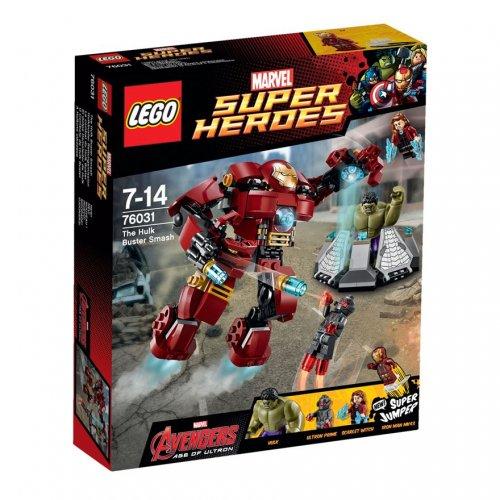 LEGO Super Heroes Avengers The Hulk Buster Smash 76031 £22.49 @ Argos