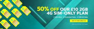 TPO Mobile 2GB 30-day contract is £5 in month 1