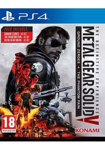Metal Gear Solid V: The Definitive Experience PS4 & XBONE @ SimplyGames £26.85