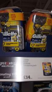 Gillette Fusion Proshield only £14 @ Sainsbury's