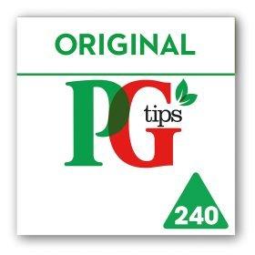 PG Tips 240 Pyramid Bags - £3.00 at Asda