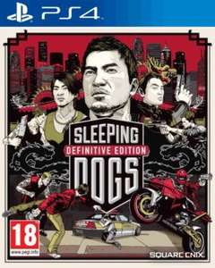 Sleeping Dogs Definitive Edition - Limited Edition New PS4 £6.99 @ Game Online