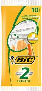 Bic 2 Sensitive Disposable Razor (Pack of 10) was £1.90 now 90p @ Tesco