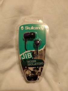 Skull Candy noise isolating earphones £5 instore @ Tesco