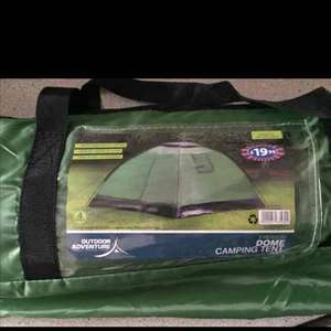 4 man dome tent £1 at b&m