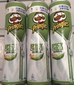 Spicy Chilli Samba Pringles 20p @ Sainsburys Local