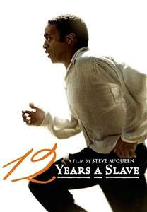 """12 Years A Slave"" on Google Playmovies store in HD reduced from £7.99 to £2.99"