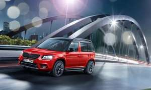 SKODA YETI 1.2TSI MONTE CARLO DSG AUTO WITH ŠKODA FINANCE 'PERSONAL CONTRACT HIRE. £159 deposit and £159 * 23