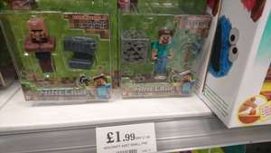 Minecraft figures £1.99 @ Home Bargains
