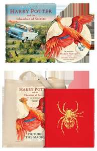 Harry Potter Chamber of Secrets Illustrated & Delux & Goodies £126 @ Bloomsbury