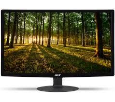 """ACER S240HLBID Full HD 24"""" LED Monitor £74.97 @ PCWORLD (free C&C)"""