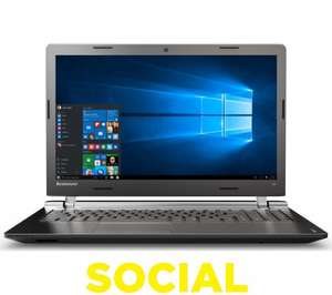 LENOVO Ideapad 100 15.6' Laptop @ PC World (free C&C) - £179.97