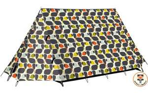 Orla Kiely A Frame 2 Person Tent at Halfords £30 (down from £100) - free C&C