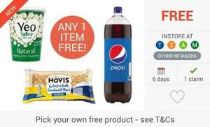 FREEBIE... Pepsi (2L) / Yeo Valley Yoghurt / Hovis Thins via Checkoutsmart & Shopitize Apps - from £1 @ Tesco, Asda, Sainsbury's, Morrisons & Waitrose...