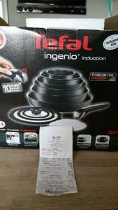Tefal ingenio induction 13 Piece Set £127.50 at the Tefal shop (closing sale), Gloucester Quays
