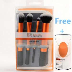 Real Techniques Core Collection Kit and Carry Case + Free RT Complexion Sponge £5.99 delivered at eBay