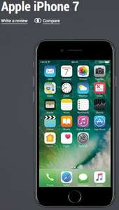 Apple iPhone 7 32GB (Upfront Cost £79.99, Monthly Cost £42.00) on Vodafone