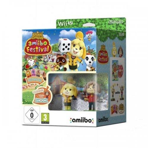AMIIBO FESTIVAL Game & 2 Amiibo's - Nintendo Wii U - SEALED - FREE P&P - £11.95 - gamesdirectlimited / ebay