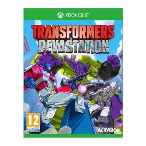 [Xbox One] Transformers Devastation - £7.95  / [Wii U] Animal Crossing amiibo Festival - £9.99 - TheGameCollection