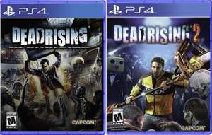 Dead Rising 1/2 Remastered Physical Edition £18.99 each XB1/PS4 (NTSC) @ 365Games