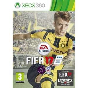 "FIFA 17 - Xbox 360 - Pre-Order - With code ""FIFA5"" - SMYTHS TOYS - £34.99"