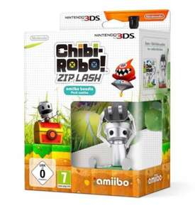 Chibi-Robo Game & Zip Lash Amiibo for Nintendo 3DS for £12.95 from eBay/gamesdirectlimited