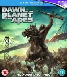 Dawn Of The Planet Of The Apes Blu-ray Game - £1.99
