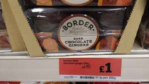 Border biscuits selected packs £1.00 @ Sainsbury's