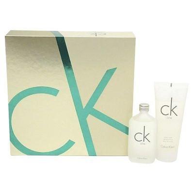 Brand New Calvin Klein CK One Unisex Gift Set 50ml EDT 100ml Body Wash @Tescooutlet eBay - £11.50
