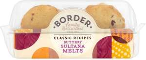 Border's Biscuits reduced from £1.58 to £1.00 @ Morrisons