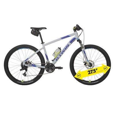 "B'TWIN Rockrider 520 Mountain Bike Bundle, Light Grey - 27.5"" £219 Decathlon"