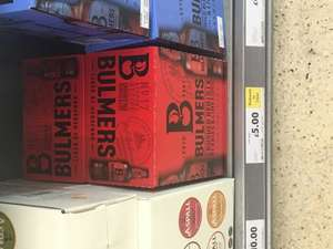 Bulmers Crates 6-8x500ml - £5 @ Tesco Instore