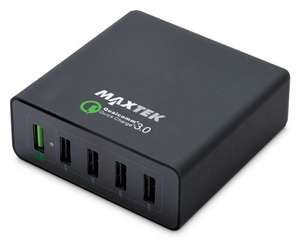 40W 5 Port USB Charger with 1x Qualcomm Quick Charge 3.0 Port - £9.99 @ Aldi (instore)
